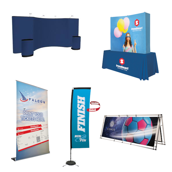 Trade Show Displays and Exhibits in all Sizes and Styles