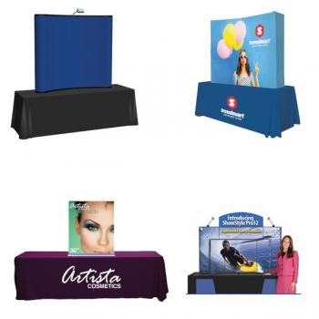 Custom Printed Displays for Tables