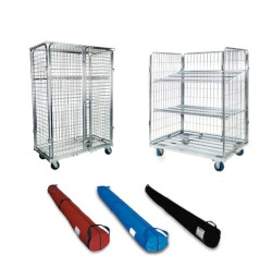 Carpet Bags and Wire Carts in stock