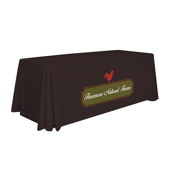 6' Standard Table Throw (Full-Color Imprint) Item # 109002