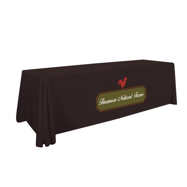 8' Standard Table Throw (Full-Color Imprint) Item # 109014
