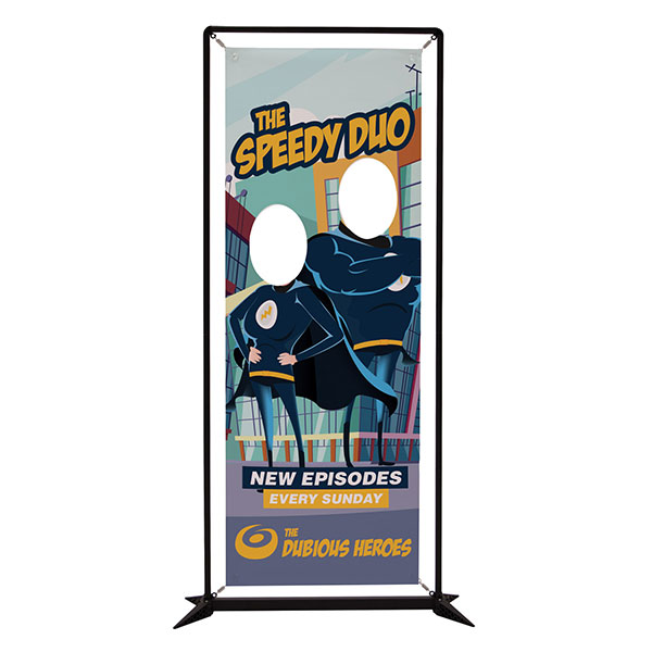 Showdown 3.5' FrameWorx Banner Display Hardware and Graphics