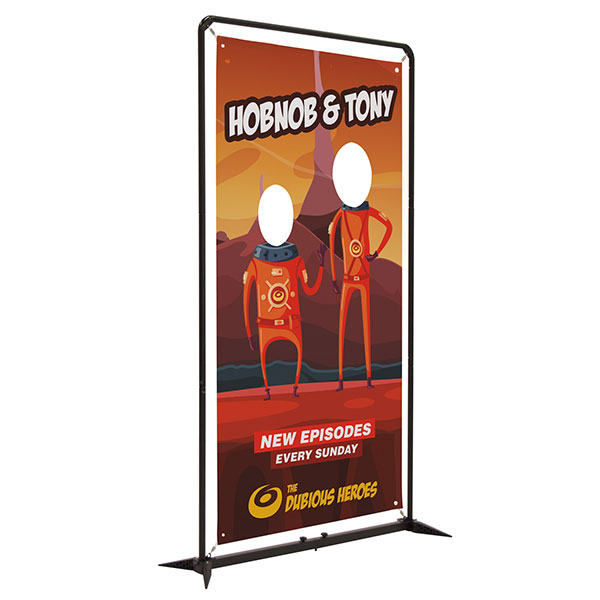 Showdown 4.5' FrameWorx Banner Display Hardware and Graphics