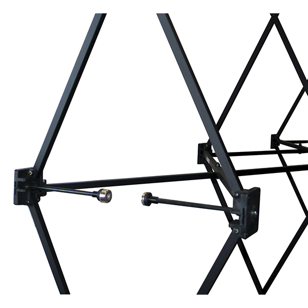 Arise expandable frame with magnetic connectors