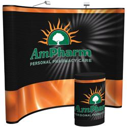 Creative Banner Arise 10ft Display, Custom Printed Full Graphic Mural