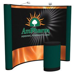 Creative Banner Arise 10ft Display, Custom Printed front graphic