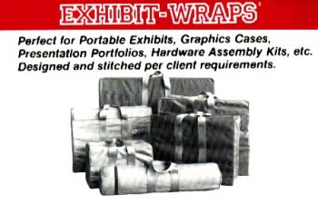 Custom made bags for carrying trade show accessories