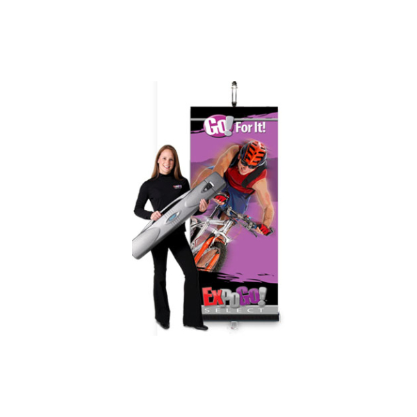 ExpoGo Select retracting banner stand