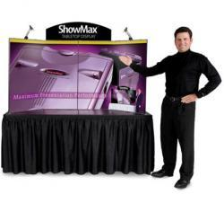 ExpoGo ShowMax briefcase display