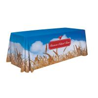 6' Standard Table Throw (Full-Color Dye Sublimation, Full Bleed) Item # 109010
