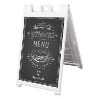 Signicade Deluxe Outdoor A-Frame Chalkboard Sign
