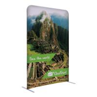 4'w x 6'h Eurofit Straight Wall Kit banner display