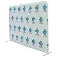 "8' wide x 72"" high EuroFit Portable Wall Partition"