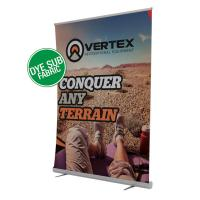 Creative Banner 5ft Jumbo wide retractable banner stand