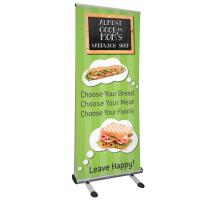 Creative Banner Trek Lite Retractable Outdoor Banner Stand