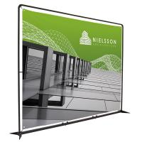Showdown 10.5' FrameWorx Banner Display Hardware and Graphics