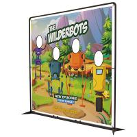 Showdown 8.5' FrameWorx Banner Display Hardware and Graphics