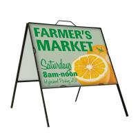 Creative Banner Iron A-Frame Outdoor Sign Kit