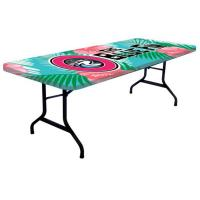 8' Printed Full Color Table Topper