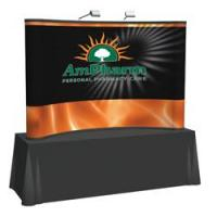 Creative Banner 8ft Tabletop Full Mural Kit, Printed End Caps