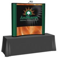 Creative Banner 6ft Tabletop Front Mural Kit, Fabric End Caps