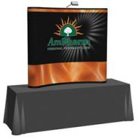 Creative Banner 6ft Tabletop Full Mural Kit, Printed End Caps