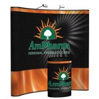 Creative Banner Arise 8ft Display with Custom Printed Full Mural