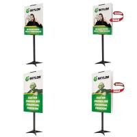 Creative Banner X-Base Indoor Signs with 2 sizes, 2 graphic options