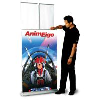 ExpoGo MagicPak Double-sided retracting banner stand