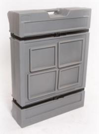PP4825 Panel Case with Extending Lid and buckles